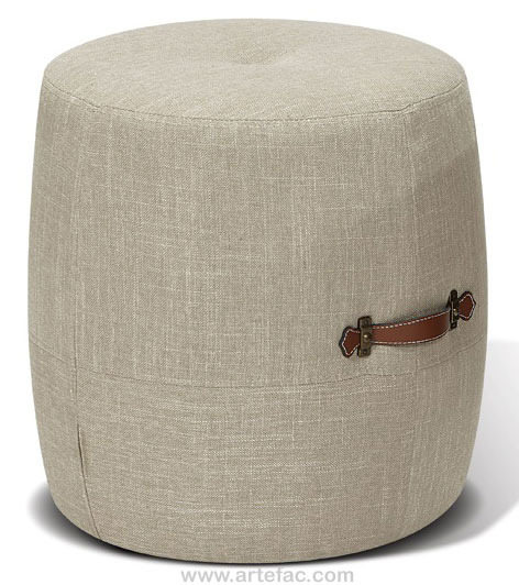 Ottomans Benches Kr 7508 Drum Stool In 3 Colors