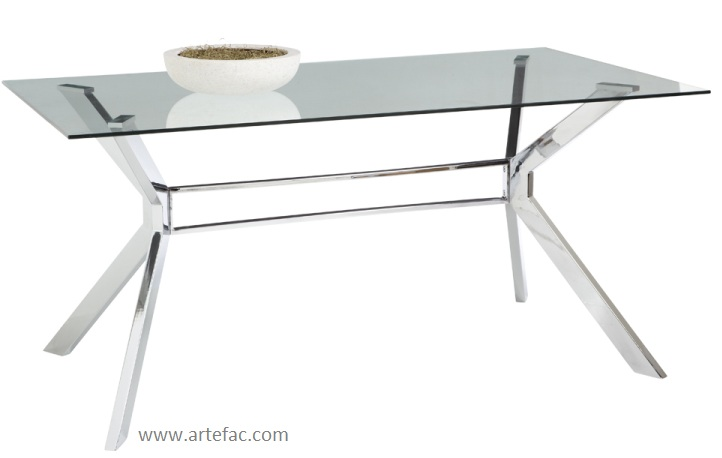 dining accent tables dining tables sr 30320 steel and glass