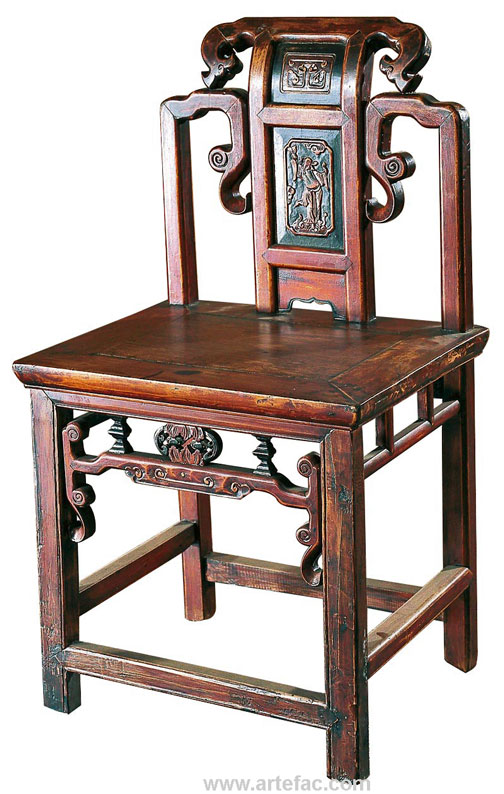 Merveilleux BR 20910A Antique Chinese Chair