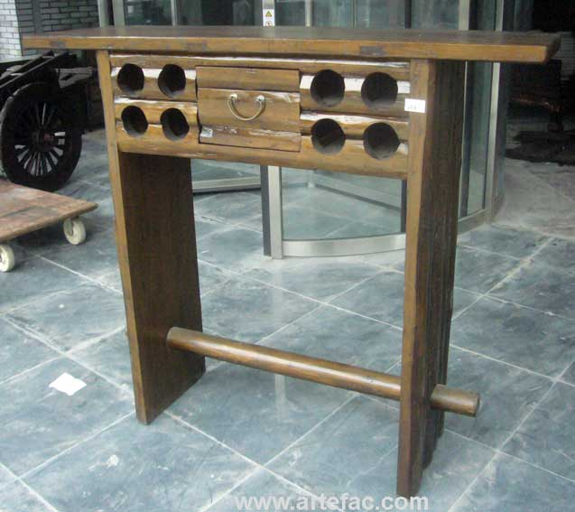 Delightful BR V113 Antique Bar Table