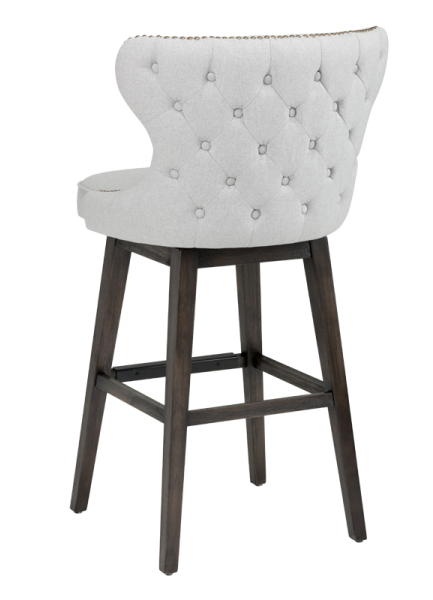Bar Stools Amp Kitchen Counter Stools Fabric Swivel