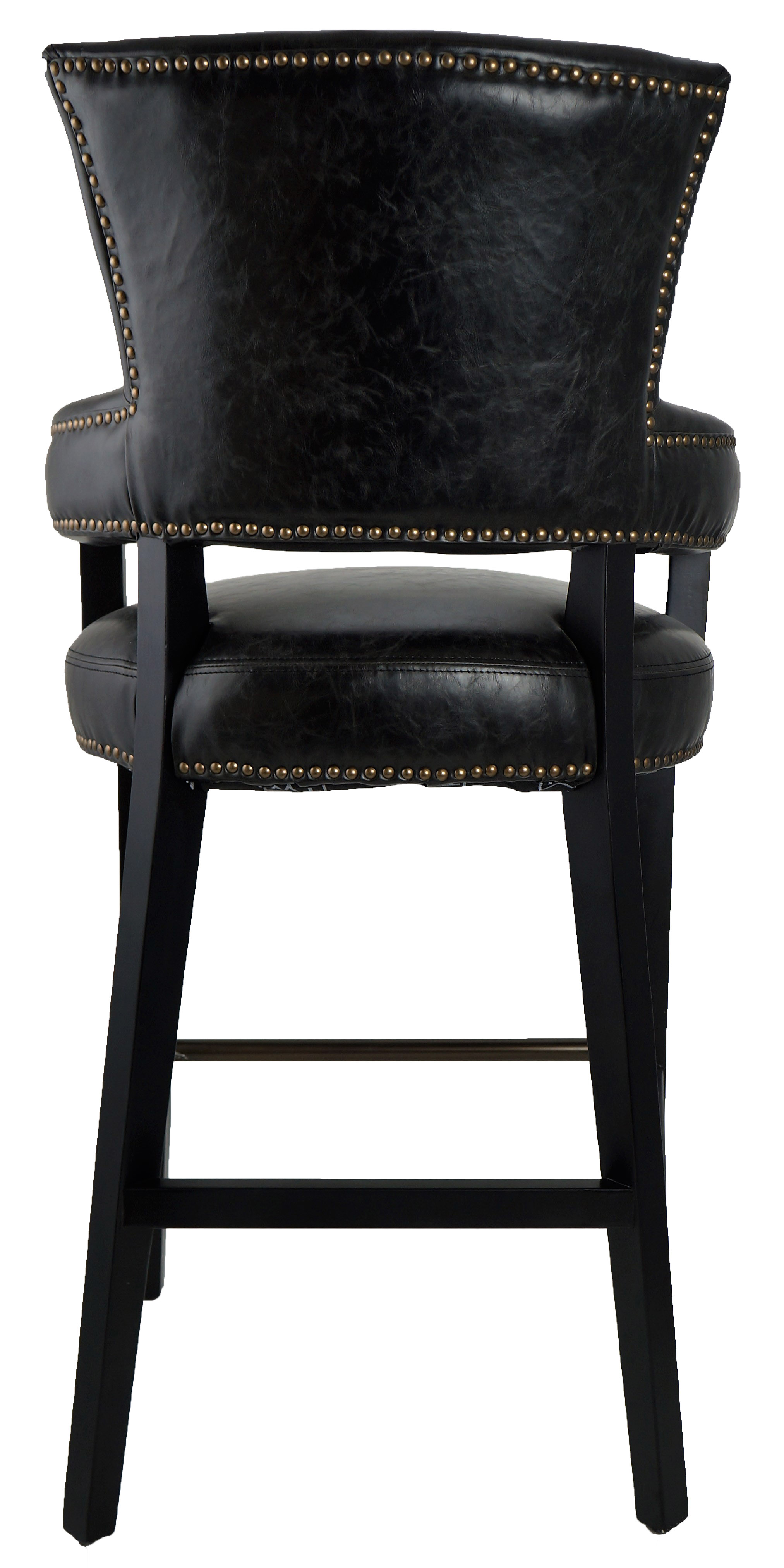 Bar Stools Amp Kitchen Counter Stools Black Majestic Arm Bar Stool Only 1 Left Final Floor Model Artefac Usa