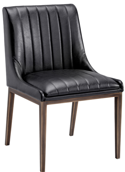 Leather Parson Dining Room Amp Kitchen Chairs Sr 101134