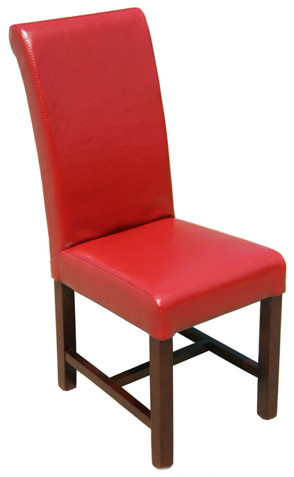 R 491 High Restaurant Chair In Red