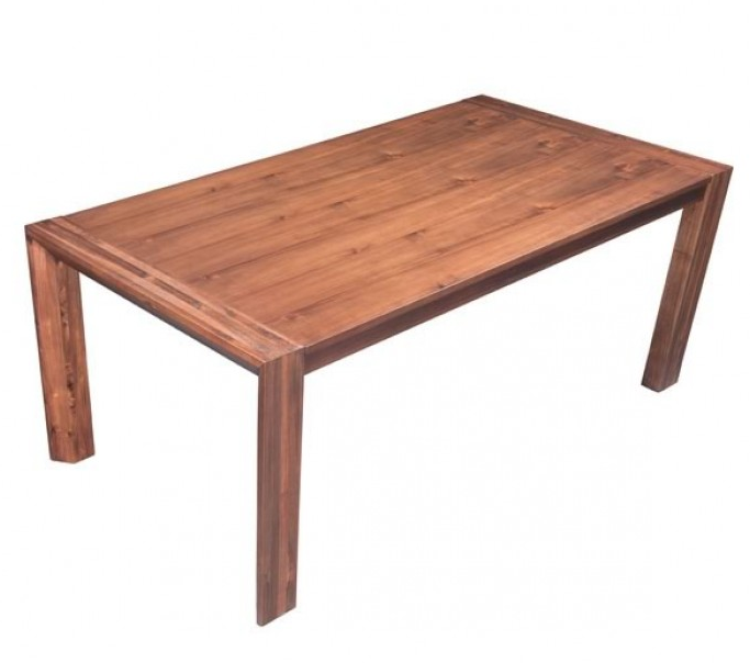 rz 100588 extension dining table in chestnut finish artefac usa