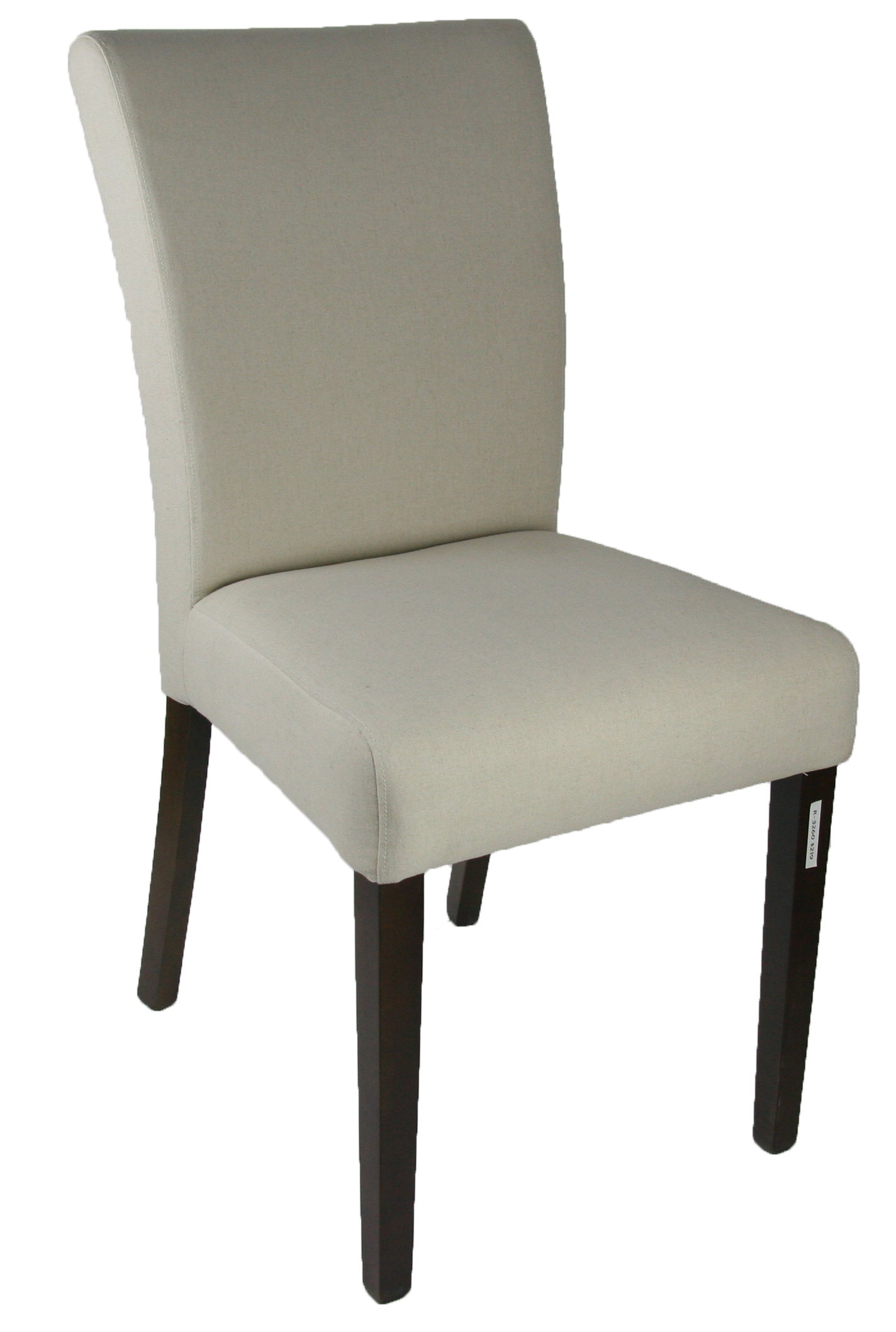 Clearance Cream Faux Leather Low Back Dining Room Chair