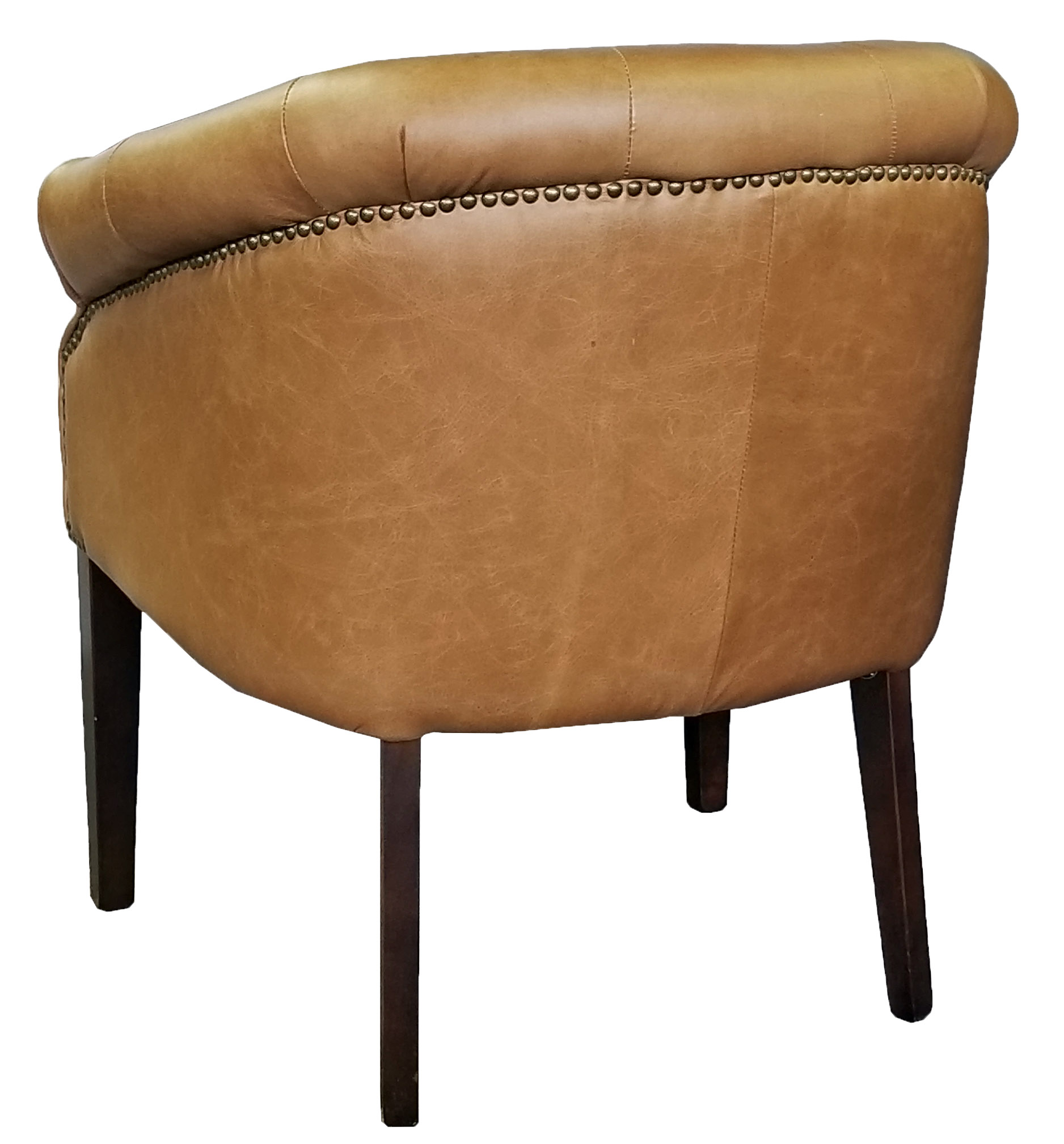 Restaurant Chairs Stools Amp Booths Leather Tub Chair In
