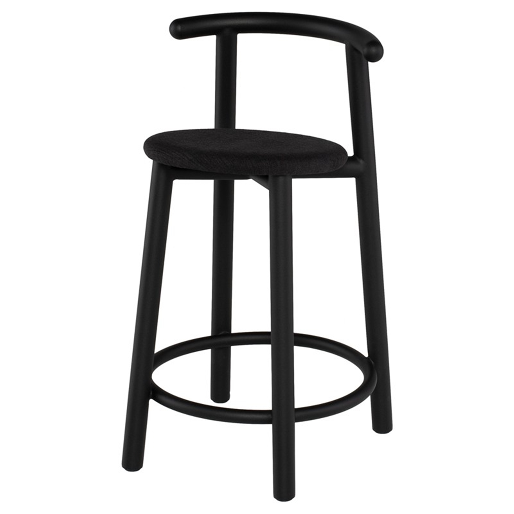 bar stools  kitchen counter stools  coal fabric counter