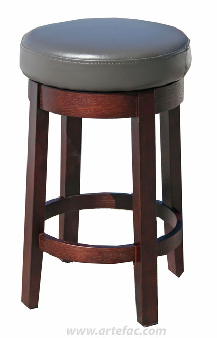 Quot R 565 Swivel Off White Leather Stool Quot
