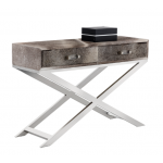 SR-101709 Unique Cowhide Console Table