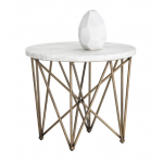 SR-102386 Modern Side Table w/ Marble Top