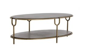 SR-102156 Antique Brass Coffee Table