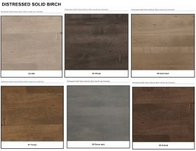 DISTRESSED SOLID BIRCH