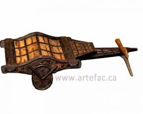 ART-007 Antique Cart