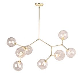 RN-536 8-Bulb Pendant Lighting