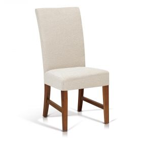 KR-13136 Sleek Dining Chair With Stretchers