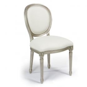KR-2101 Elegant Oval-backed Side Chair