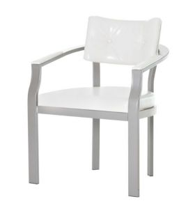 Contract Quality Custom Made Curved Back Dinning Chair