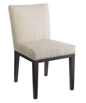 SR-55873 Leather Dining Chair with Nail Head