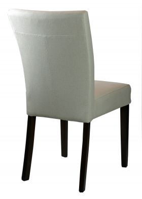 Low Back fabric Dining Room Chair in Neutral Linen R-3260