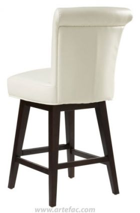 Quot Rollback Swivel Barstool Counter Stool In Brown Quot