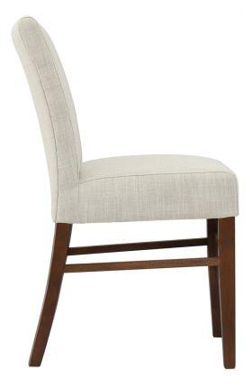 SL-TW001-LC Linen Cream Dining Chair (Set of 2)